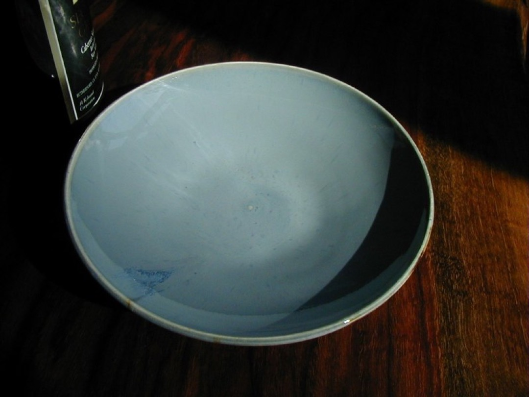 Gray Blue Bowl